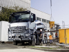 Le Mercedes Arocs, camion de chantier, entre en production en mai 2013.
