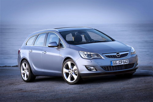 Opel Astra Sports Tourer Astra Sports Tourer : de beaux volumes.