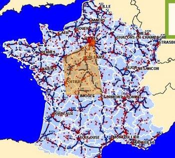carte radars gouvernement