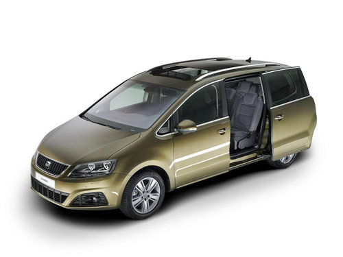 seat alhambra seat alhambra 2010 un sharan espagnol salon de l 39 auto 2010. Black Bedroom Furniture Sets. Home Design Ideas