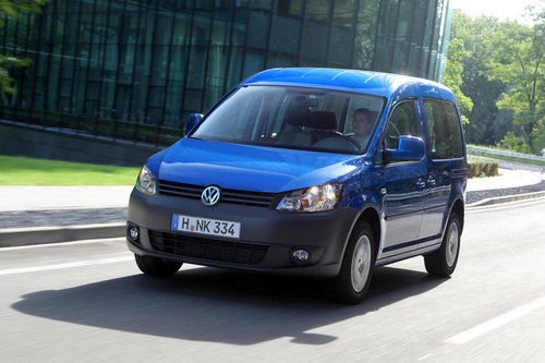 Volkswagen Caddy, seconde g�n�ration plus �conomique.