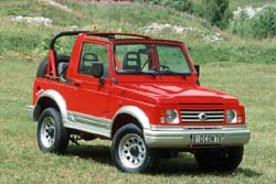 suzuki samurai un tout terrain tr s abordable l 39 argus. Black Bedroom Furniture Sets. Home Design Ideas