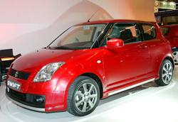Suzuki Swift. photos de Christian Bede�  Les citadines font le show