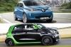 Renault Zoé vs Smart Forfour électrique : le match des prix !