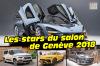 Salon Genève 2018 : les stars à l'affiche du salon de l'auto suisse