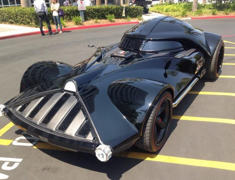 les meilleures voitures pour les fans de star wars si dark vador avait une voiture l 39 argus. Black Bedroom Furniture Sets. Home Design Ideas