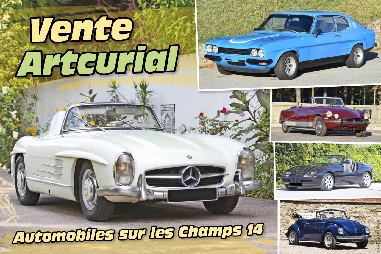 Vente Artcurial : Automobiles sur les Champs 14