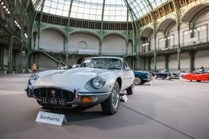Jaguar Type E Bonhams grans palais paris