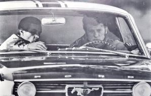 Johnny Hallyday Ford Mustang 1967