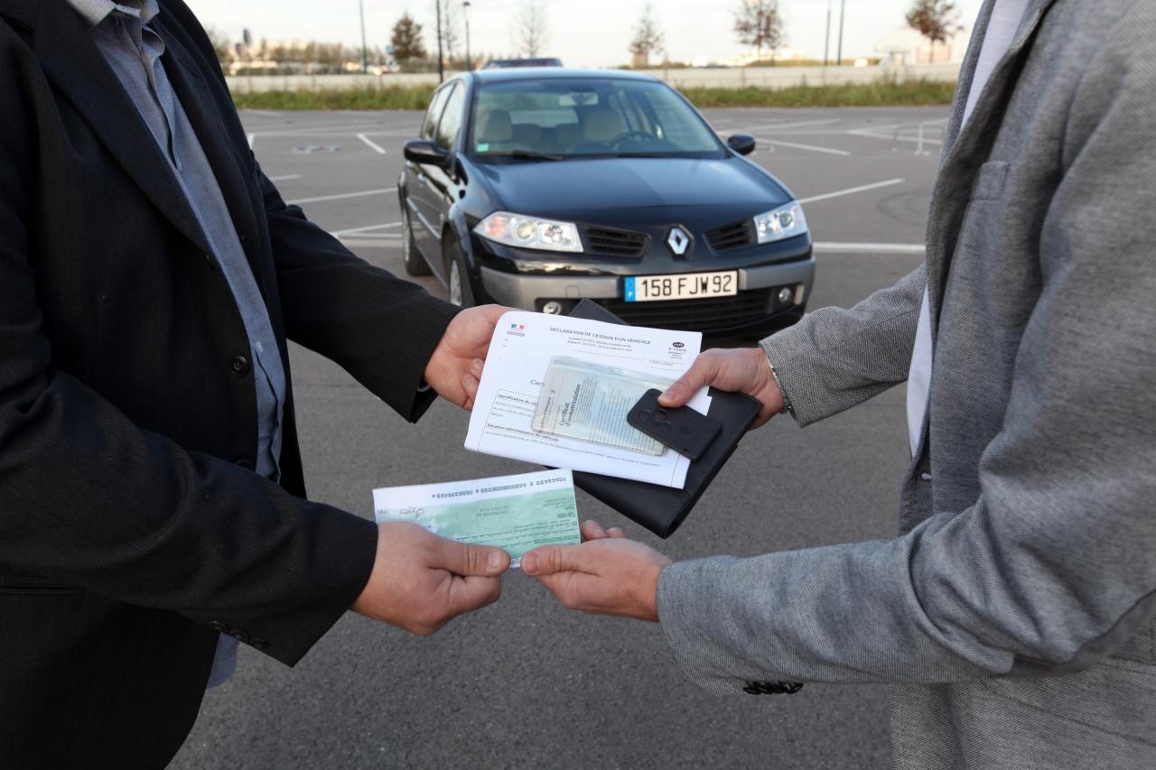 acheter voiture particulier