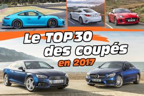 Top des ventes de coupés en France en 2017