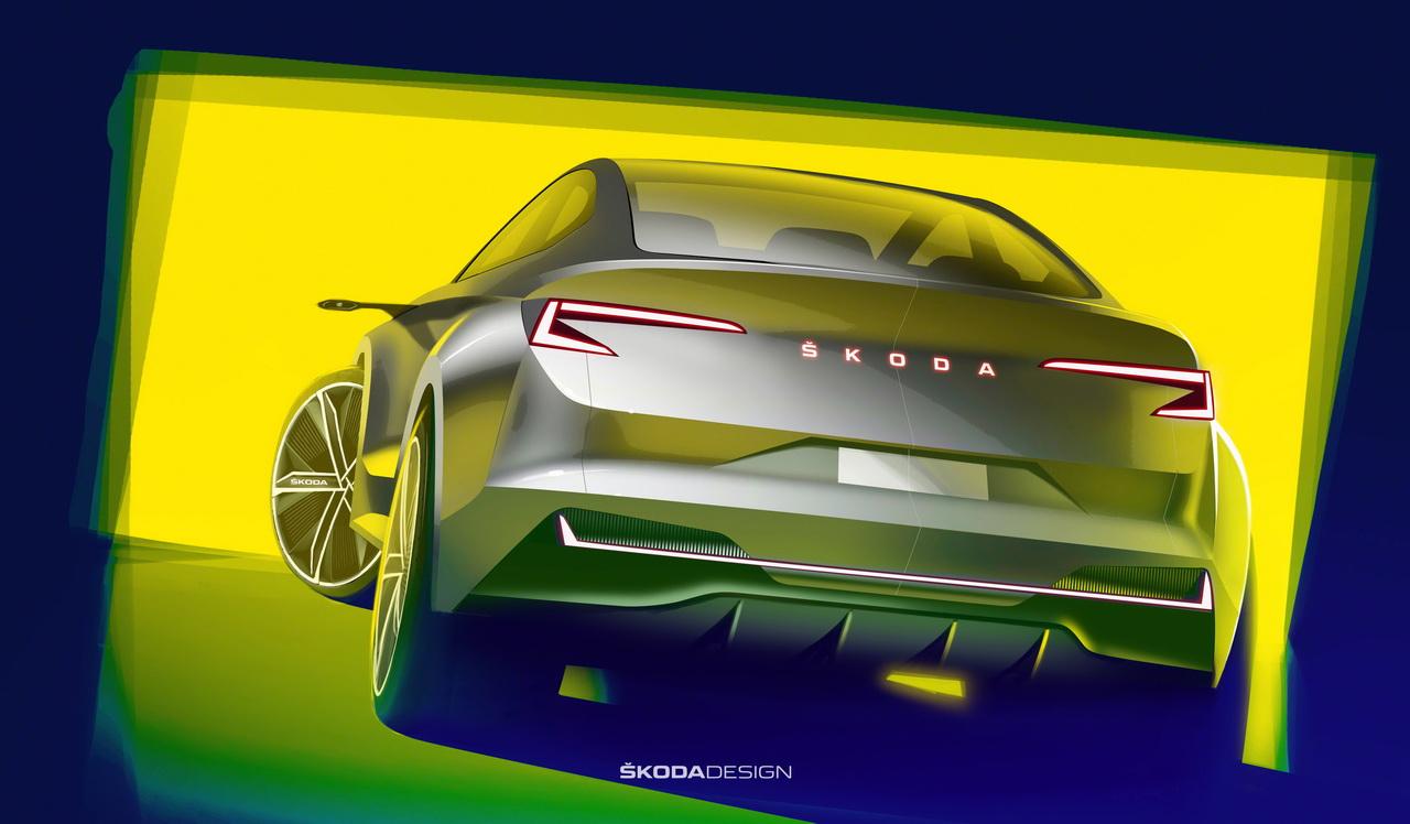 Skoda Vision iV. Le SUV coupé électrique de 2020 se précise