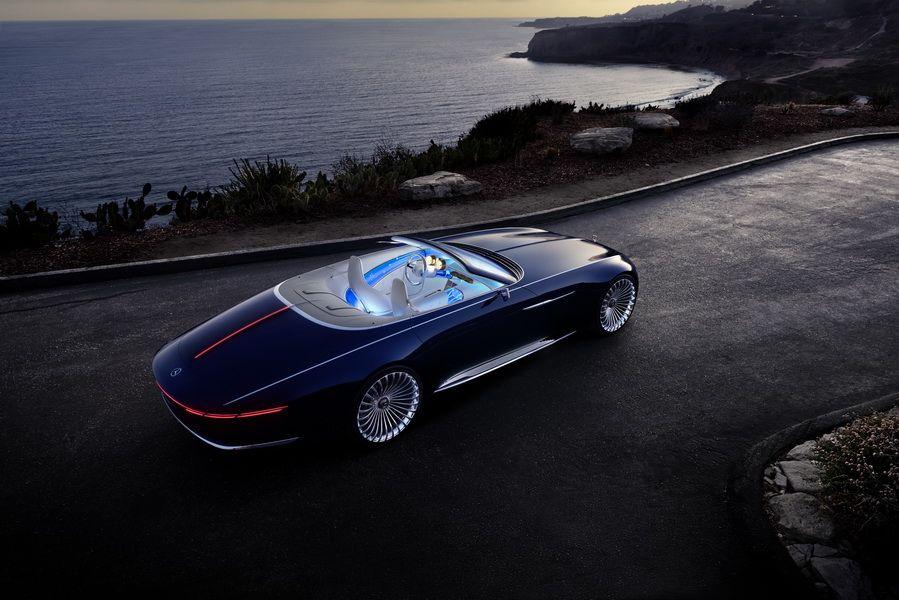 la vision mercedes maybach 6 cabriolet fait son show pebble beach photo 8 l 39 argus. Black Bedroom Furniture Sets. Home Design Ideas