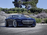 La Vision Mercedes-Maybach 6 Cabriolet fait son show à Pebble Beach