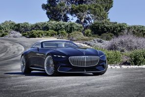Vision Mercedes-Maybach 6 Cabriolet Pebble Beach 2017 3/4 avant