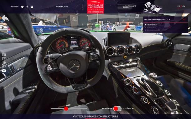 visite virtuelle du mondial de l 39 automobile comme si vous y tiez l 39 argus. Black Bedroom Furniture Sets. Home Design Ideas