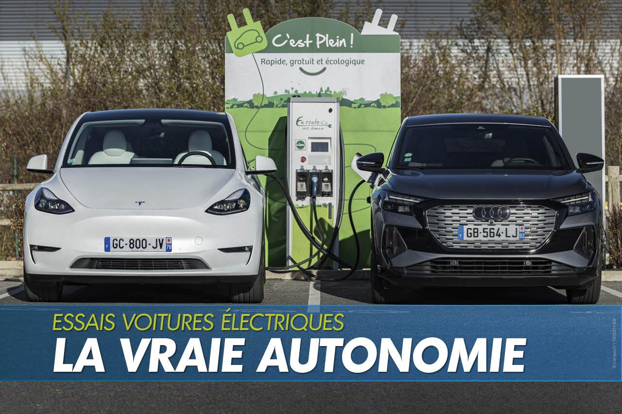 Autonomie des voitures électriques : les résultats de nos tests