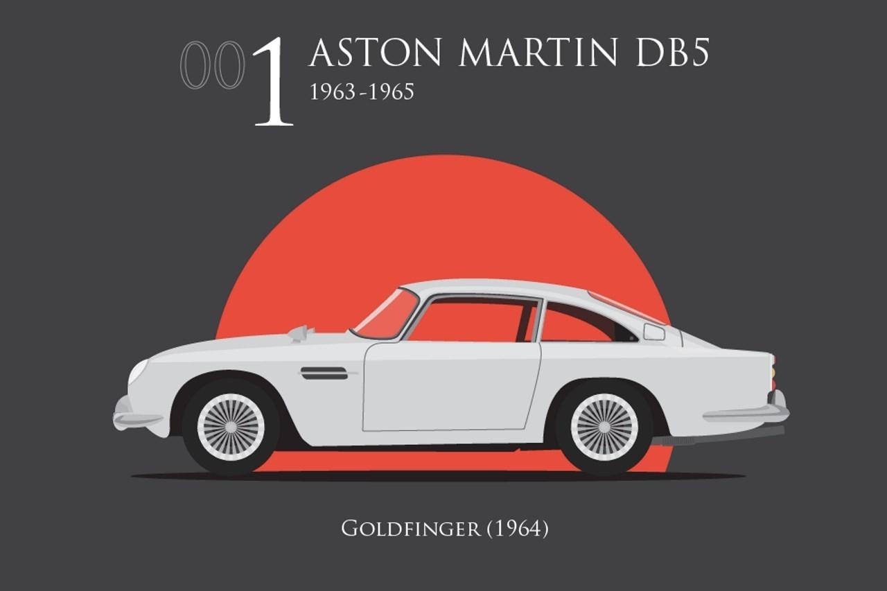 voitures de james bond les 007 mod les pr f r s des britanniques l 39 argus. Black Bedroom Furniture Sets. Home Design Ideas