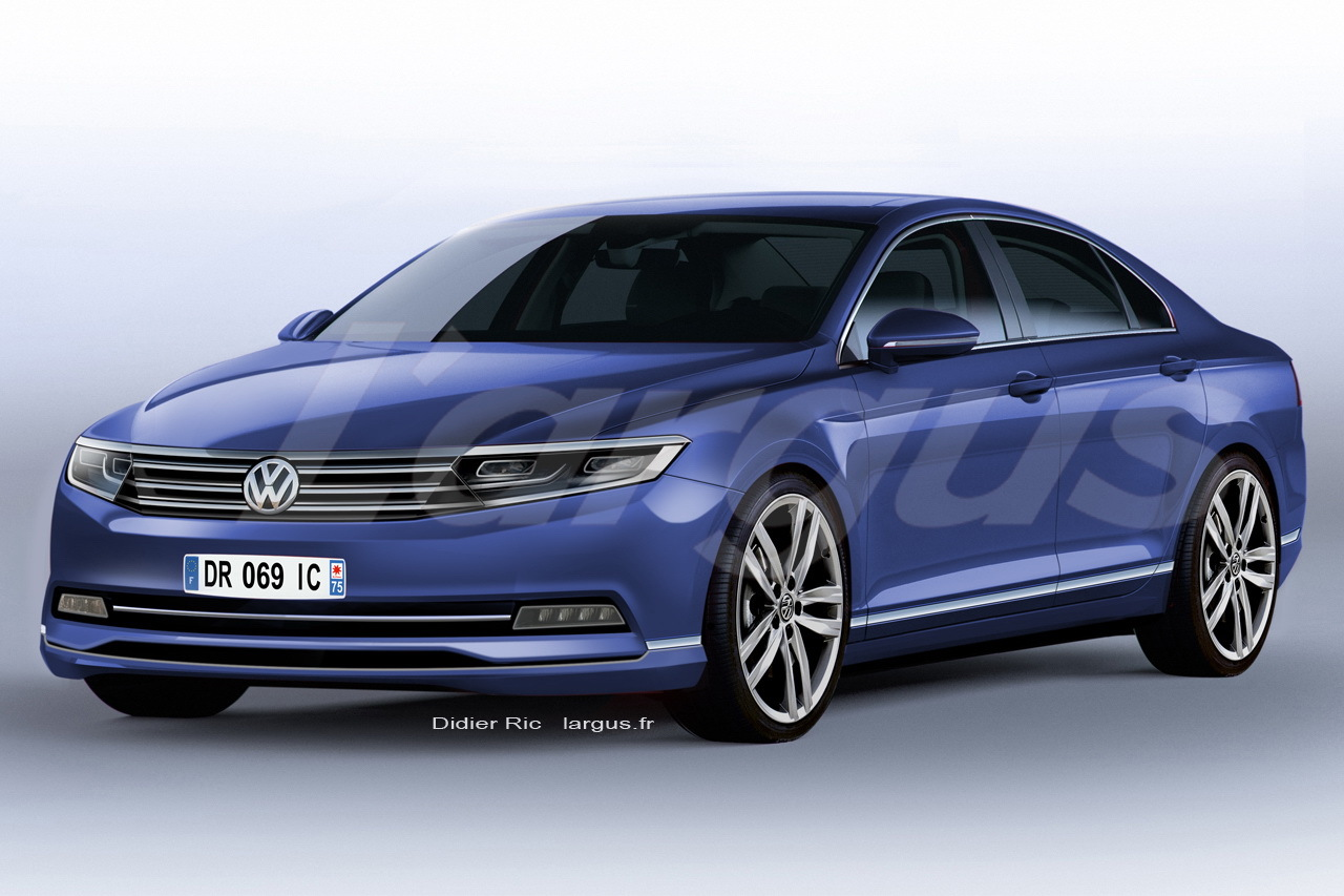 actualit nouveaut nouvelle volkswagen passat 2014. Black Bedroom Furniture Sets. Home Design Ideas
