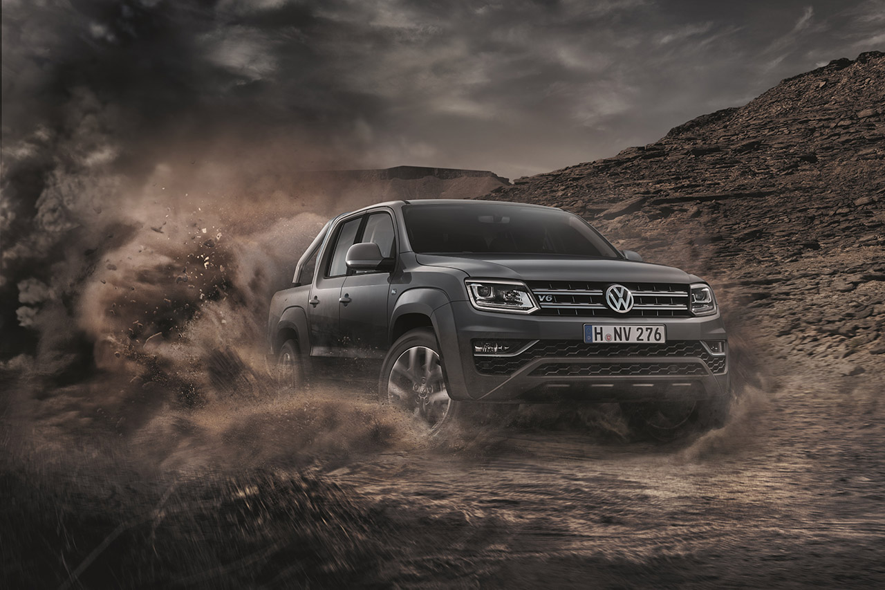 volkswagen amarok le nouveau v6 tdi de 258 ch est disponible photo 1 l 39 argus. Black Bedroom Furniture Sets. Home Design Ideas