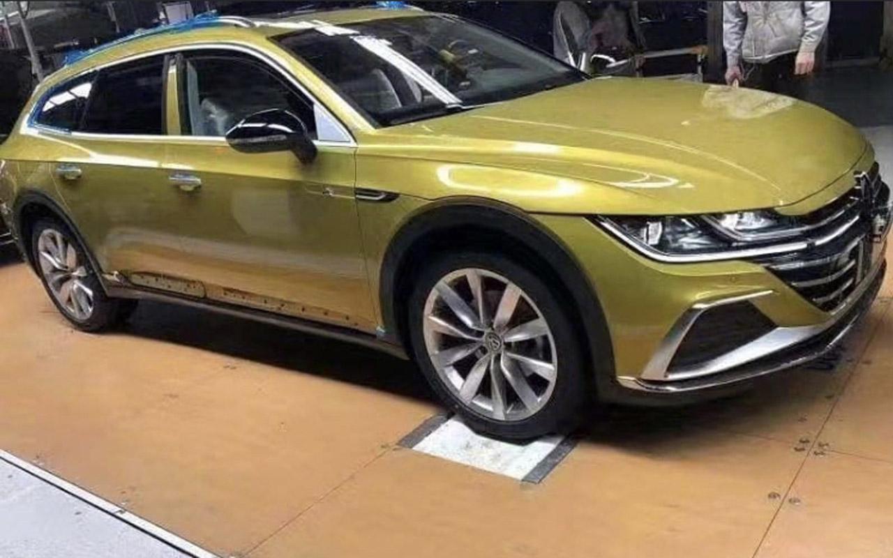 Volkswagen ArteonShooting Brake (2020): les premières images