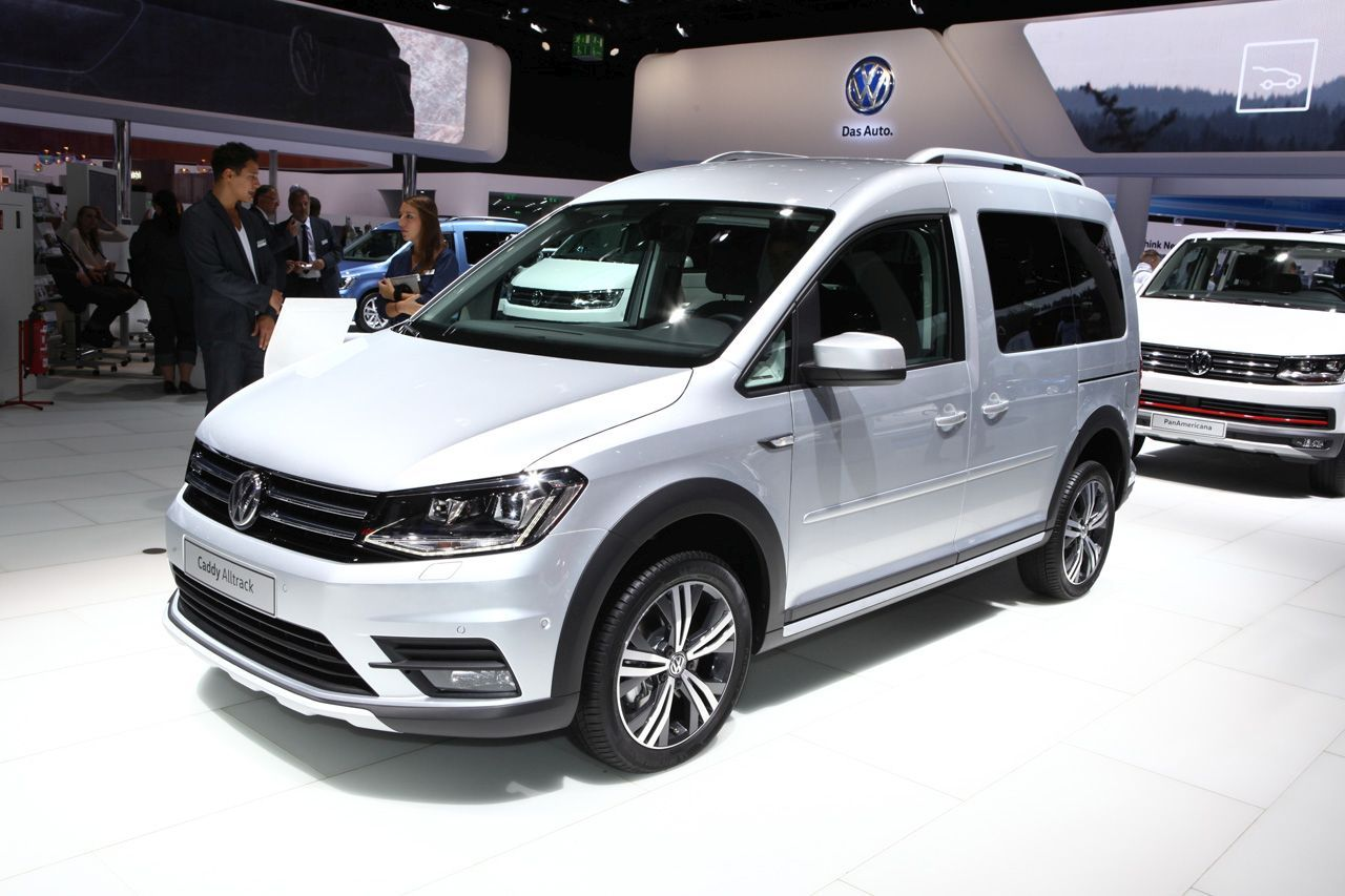 volkswagen caddy alltrack  le caddy au  de baroudeur photo  largus