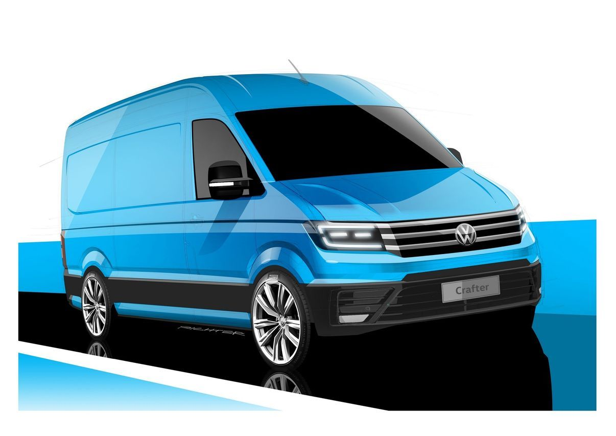 voici le nouveau volkswagen crafter l 39 argus. Black Bedroom Furniture Sets. Home Design Ideas