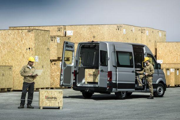 un compl ment de gamme pour le volkswagen crafter l 39 argus. Black Bedroom Furniture Sets. Home Design Ideas