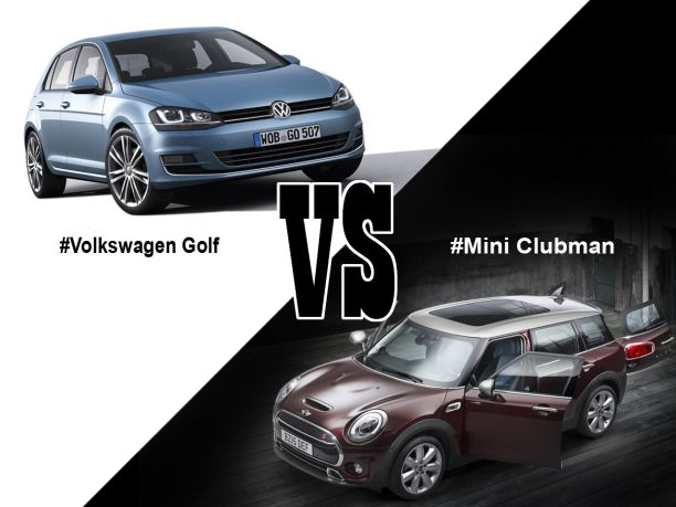 Mini Clubman Vs Volkswagen Golf Berline Chic Ou Break Choc Largus