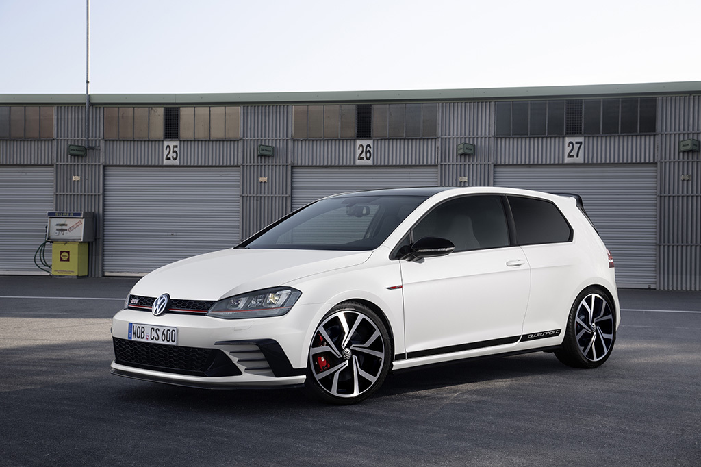 volkswagen golf gti clubsport 290 ch et 40 bougies pour la golf gti l 39 argus. Black Bedroom Furniture Sets. Home Design Ideas