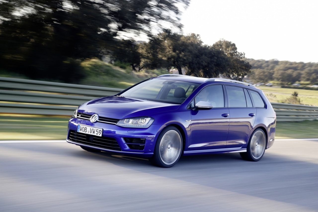 volkswagen golf r sw le break de 300 ch arrive en france l 39 argus. Black Bedroom Furniture Sets. Home Design Ideas