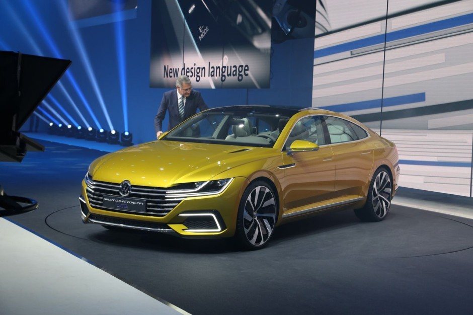 volkswagen arteon 2017 la rempla ante de la passat cc sera gen ve photo 2 l 39 argus. Black Bedroom Furniture Sets. Home Design Ideas