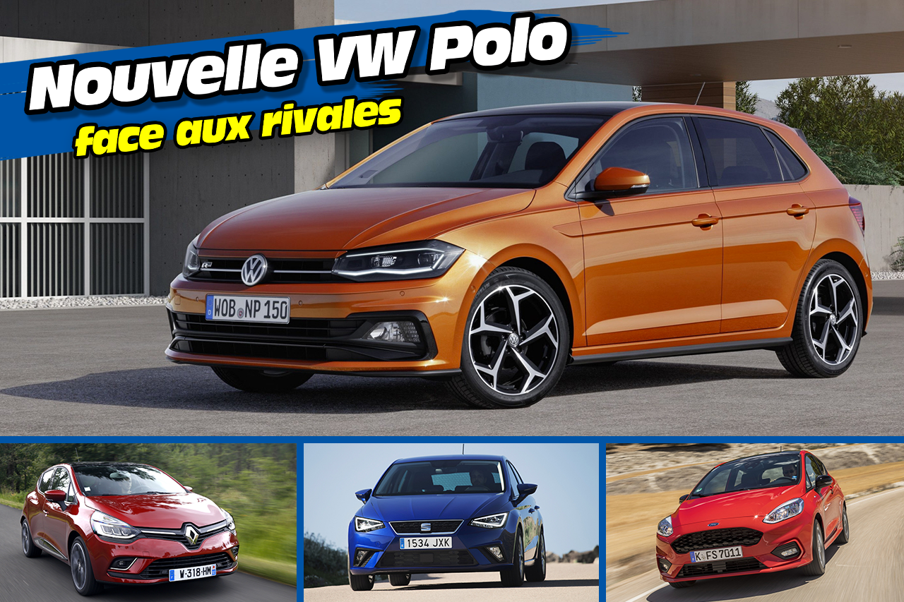la nouvelle volkswagen polo face ses 10 principales rivales la nouvelle polo face ses. Black Bedroom Furniture Sets. Home Design Ideas