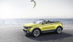 Volkswagen T-Cross Breeze vue de profil