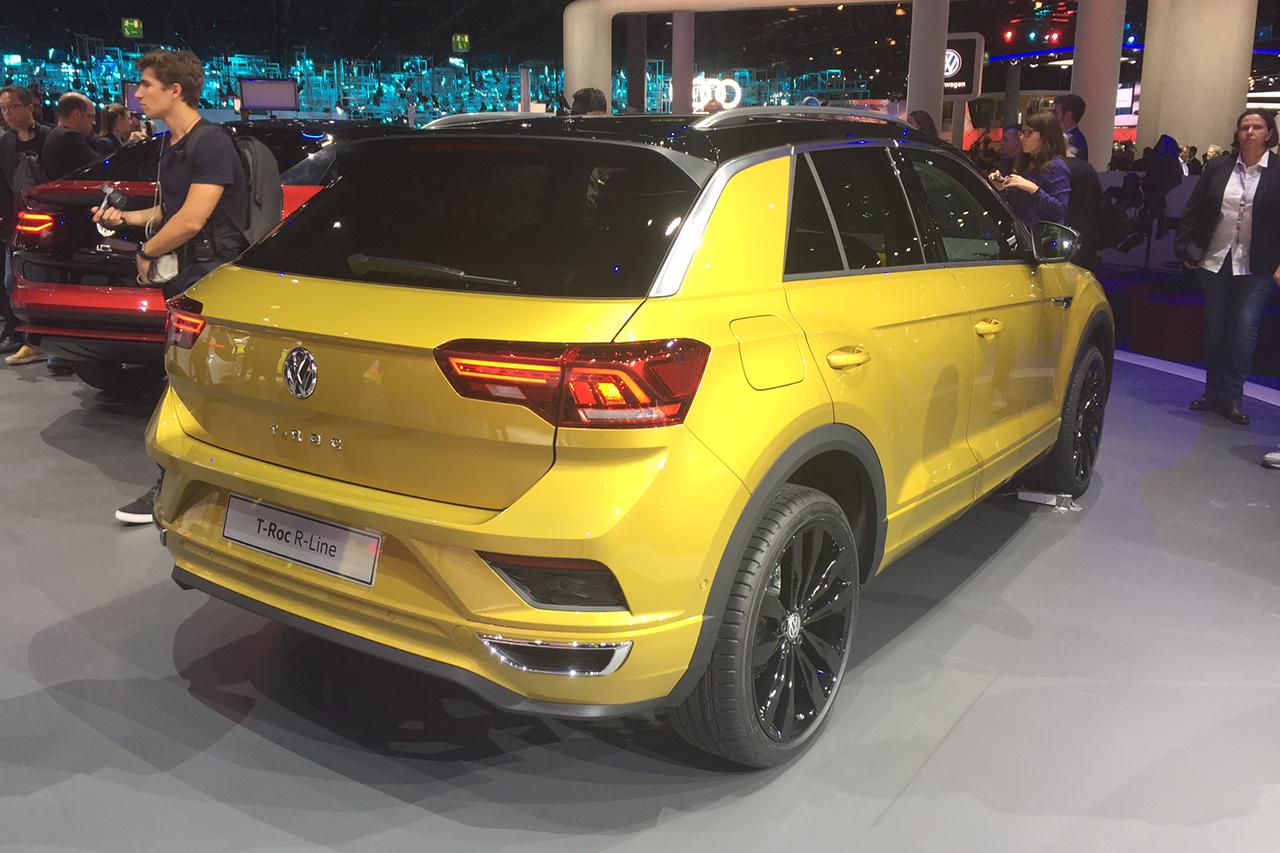 Volkswagen T-Roc R-Line : le SUV T-Roc en survêtement à ...