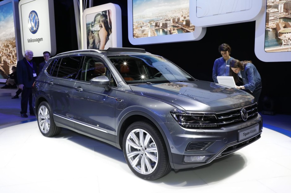 le top des nouveaut s allemandes au salon de gen ve 2017 volkswagen tiguan allspace l 39 argus. Black Bedroom Furniture Sets. Home Design Ideas