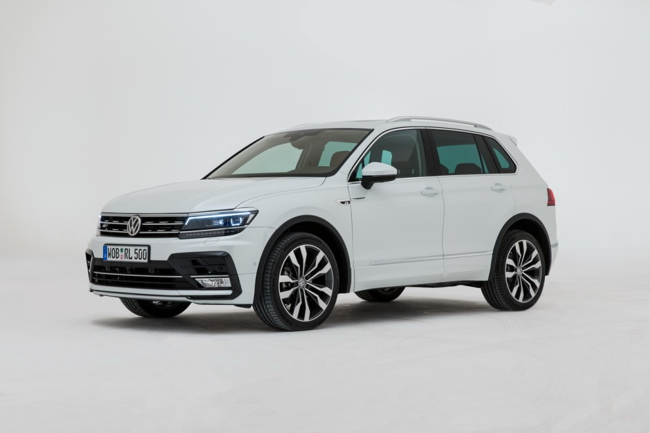 volkswagen tiguan 2016 vid o exclusive bord du tiguan 2 photo 1 l 39 argus. Black Bedroom Furniture Sets. Home Design Ideas