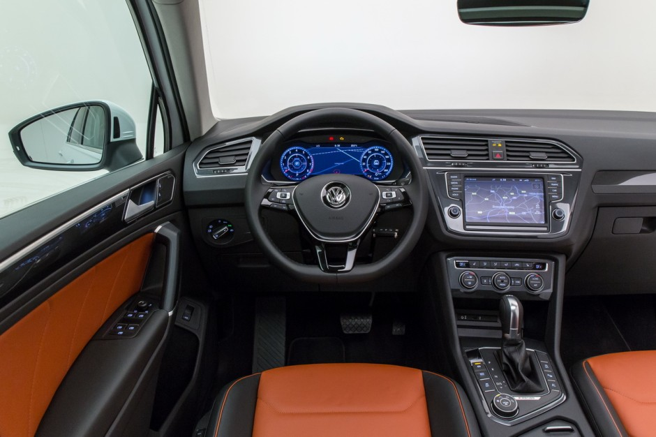 volkswagen tiguan 2016 vid o exclusive bord du tiguan 2 photo 11 l 39 argus. Black Bedroom Furniture Sets. Home Design Ideas