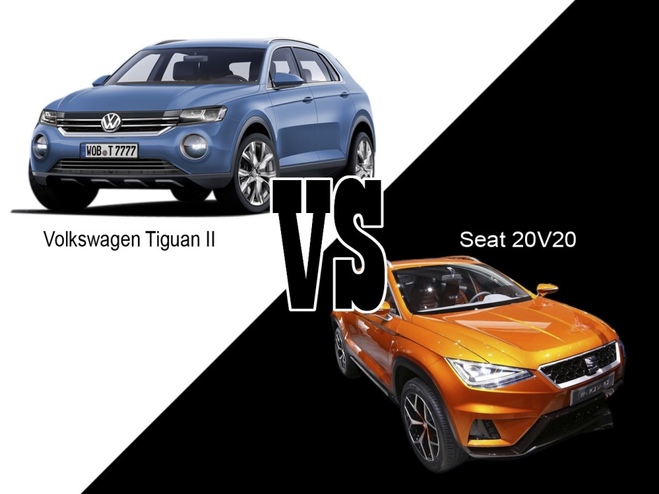 volkswagen tiguan 2 2016 vs seat suv 2016 les jumeaux photo 1 l 39 argus. Black Bedroom Furniture Sets. Home Design Ideas