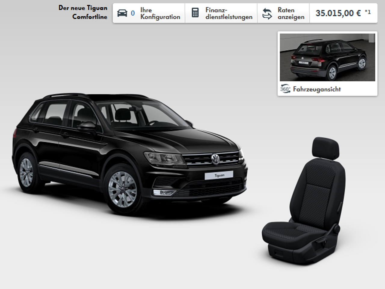 volkswagen tiguan 2016 fiches techniques configurateur et prix photo 2 l 39 argus. Black Bedroom Furniture Sets. Home Design Ideas