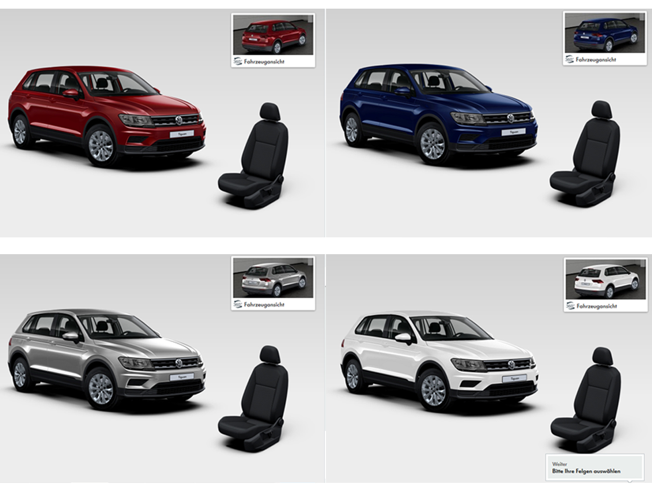 volkswagen tiguan 2016 fiches techniques configurateur et prix photo 1 l 39 argus. Black Bedroom Furniture Sets. Home Design Ideas