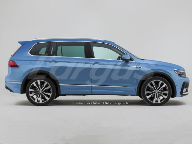 volkswagen tiguan 2016 une v ritable famille partir de 2017 l 39 argus. Black Bedroom Furniture Sets. Home Design Ideas