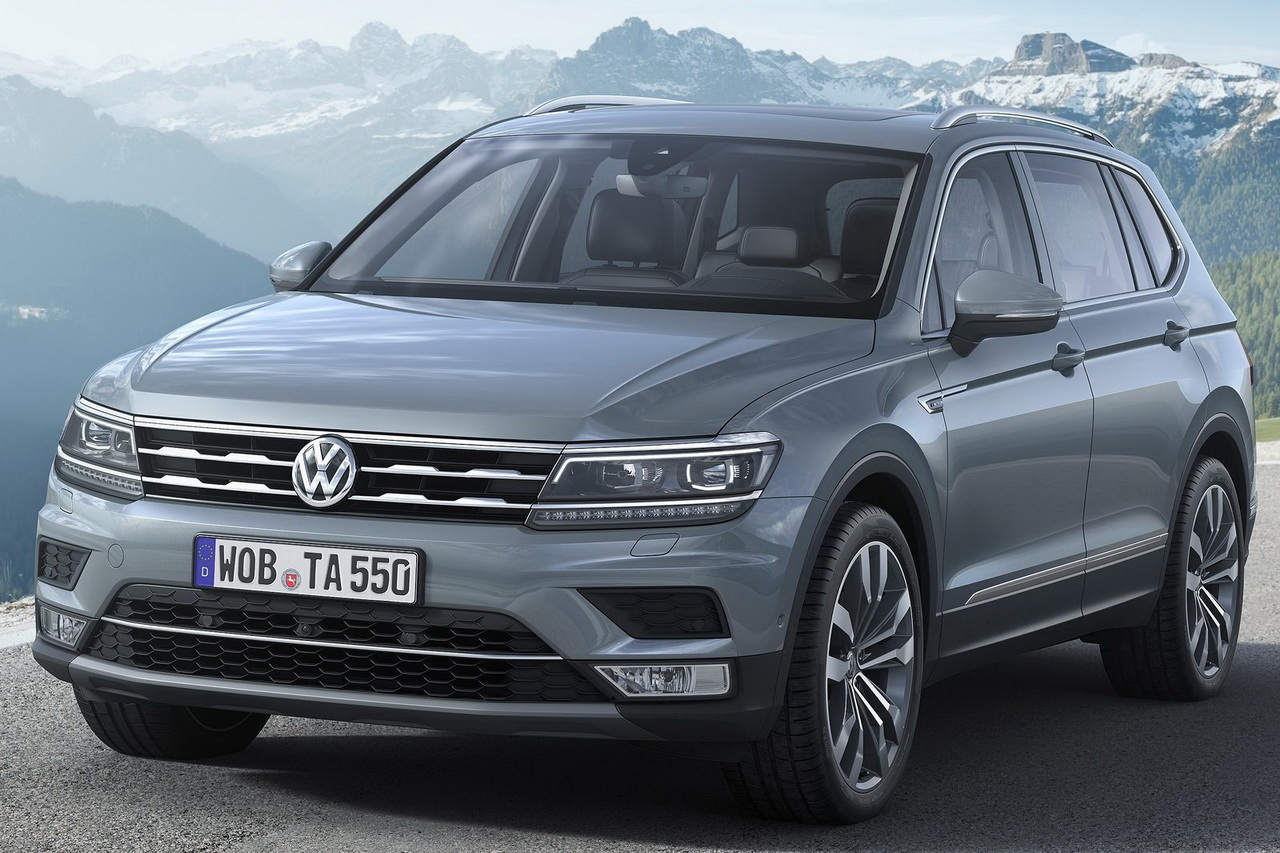 prix volkswagen tiguan allspace 2017 tarifs et quipements d voil s photo 1 l 39 argus. Black Bedroom Furniture Sets. Home Design Ideas