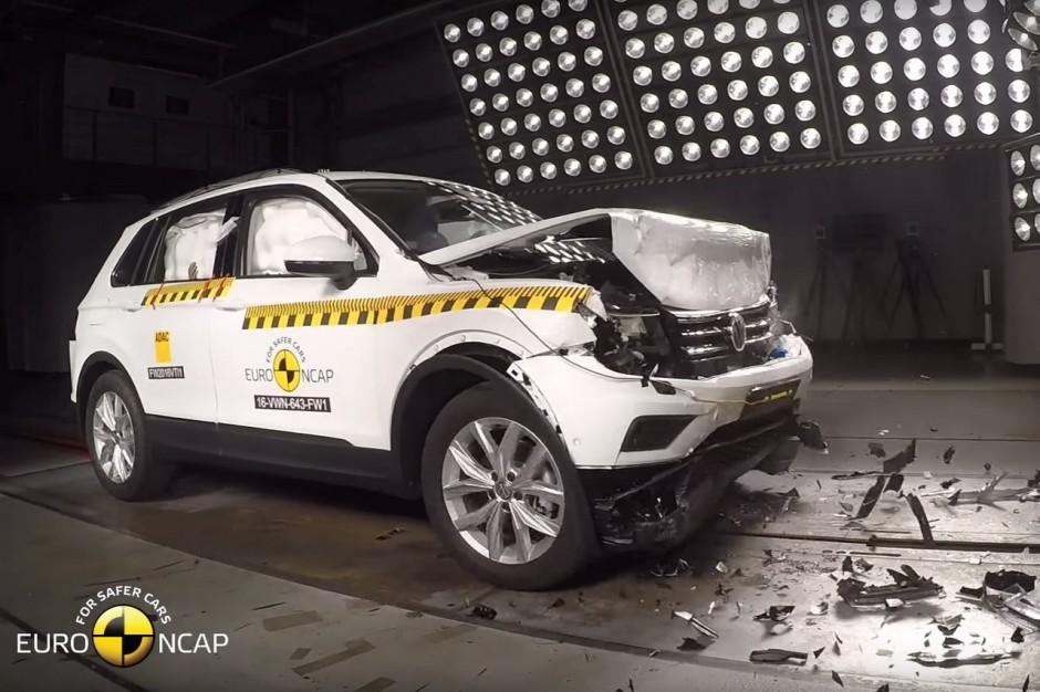 volkswagen tiguan 2016 cinq toiles au crash test euroncap photo 1 l 39 argus. Black Bedroom Furniture Sets. Home Design Ideas