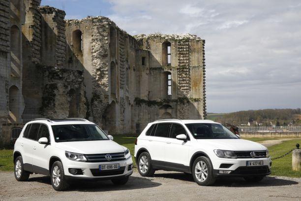 96531c7a2ff254 Le nouveau Volkswagen Tiguan face à l'ancien : quelles différences ...