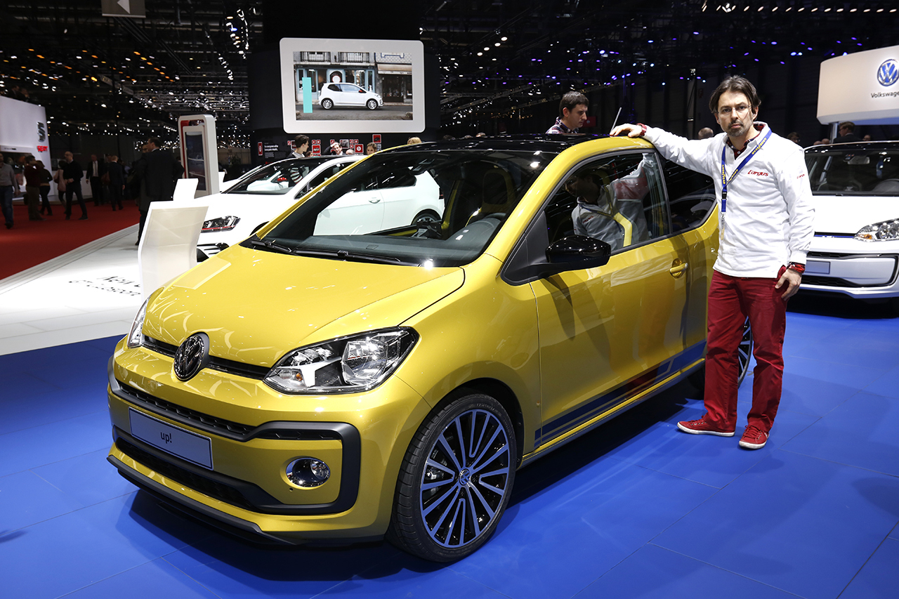 volkswagen up 2016 un minois et un moteur plus muscl s volkswagen auto evasion forum auto. Black Bedroom Furniture Sets. Home Design Ideas