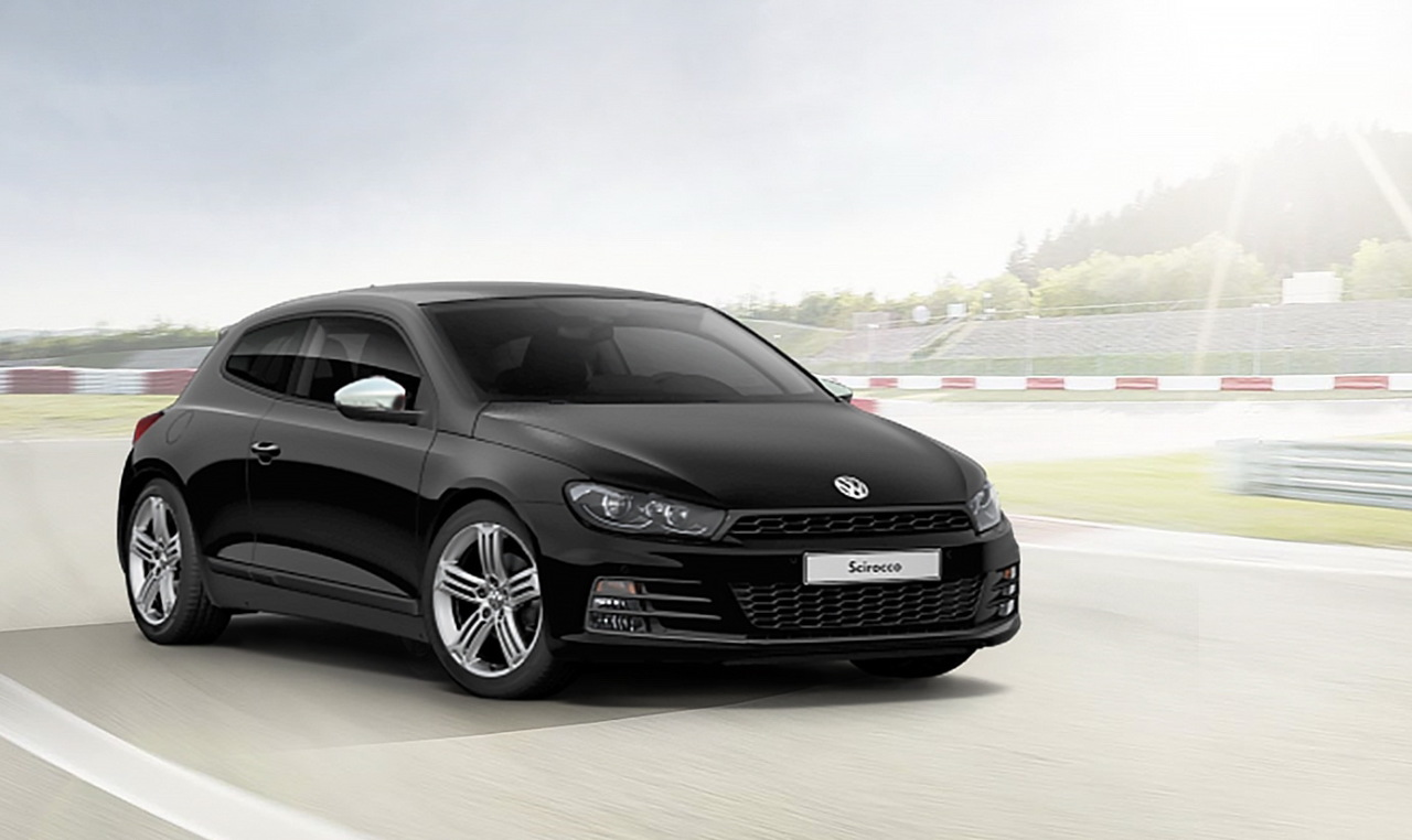 vw scirocco sport edition 300 exemplaires 2 220 de cadeaux l 39 argus. Black Bedroom Furniture Sets. Home Design Ideas