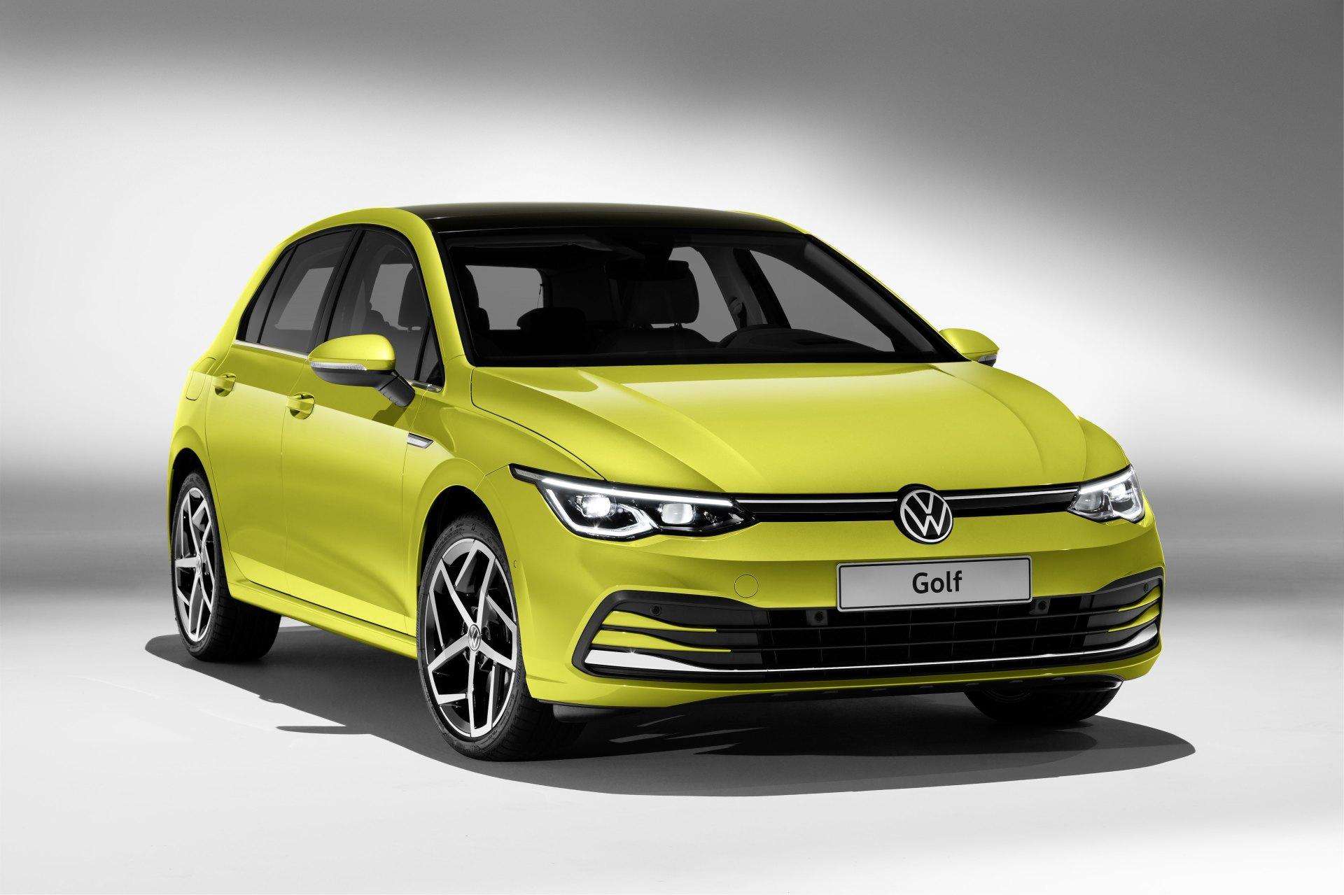 Volkswagen Golf 8 2020 Plus Branchee Que Jamais