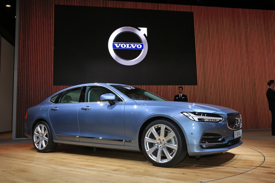 naias 2016 toutes les nouveaut s du salon de detroit en images volvo s90 au salon de detroit. Black Bedroom Furniture Sets. Home Design Ideas