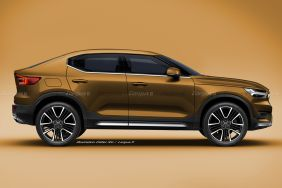 illustration SUV Coupé Volvo XC40 par Didier RIC
